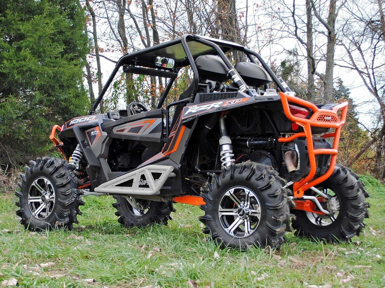 Super ATV Polaris RZR 900/1000 color blanco aluminio resistente Rock Sliders: Amazon.es: Coche y moto