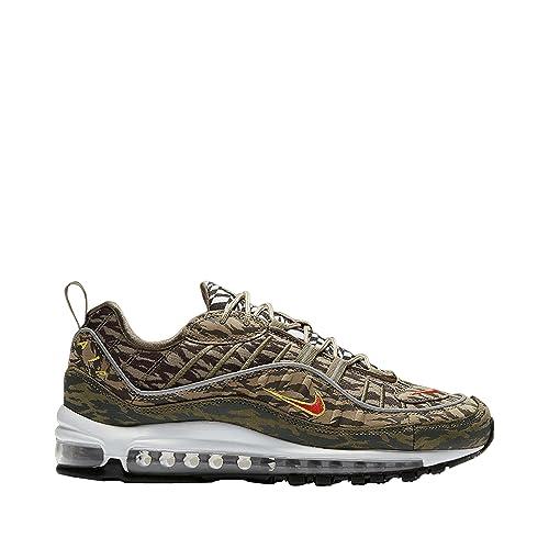 Zapatillas Nike Air Force 1 Medium Verde Hombre: Amazon.es: Zapatos y complementos