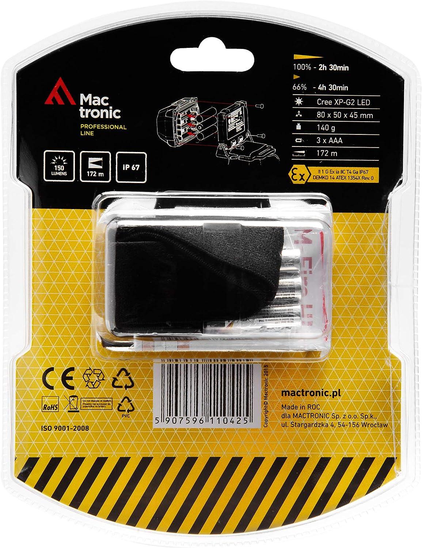 ATEX LED-MARTIN/® M-FIRE Lampada a forma di manichino vigili del fuoco testa a gomito