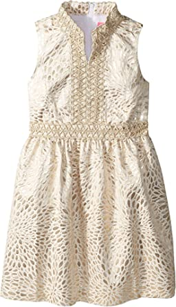48d70e44c627 Lilly Pulitzer Kids Baby Girl s Mini Franci Dress (Toddler Little Kids Big  Kids