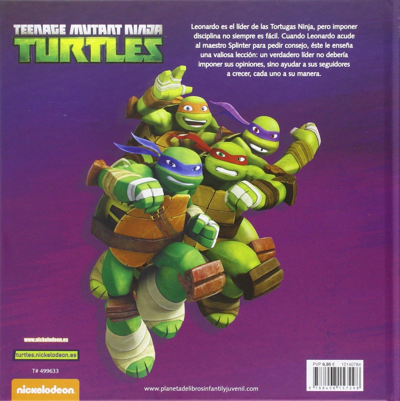 Amazon.com: Las Tortugas Ninja. Seguir al líder ...