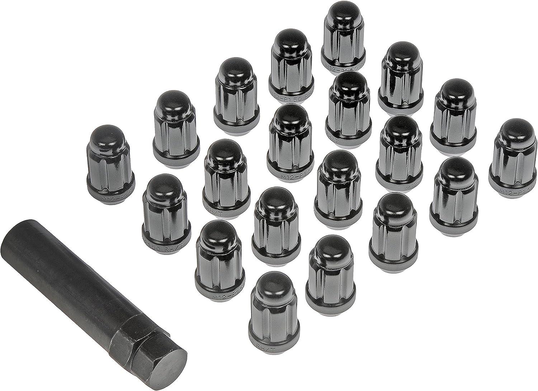 Pack of 5 Dorman 712-280 Deep Wheel Lock Set 1//2-20 for Select Models