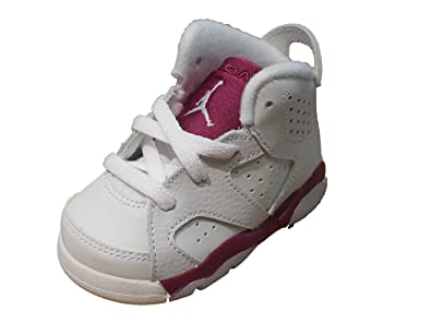 139194a25feda Image Unavailable. Image not available for. Color  Jordan Retro 6-Toddler- Maroon ...