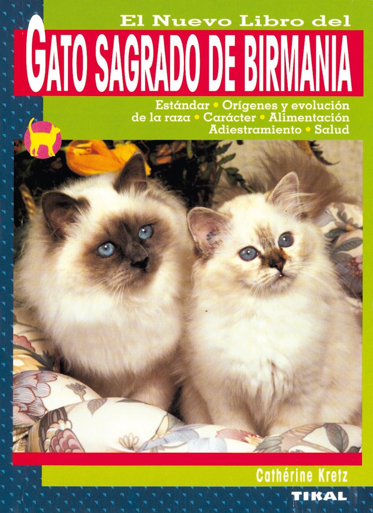 El Nuevo Libro del Gato Sagrado de Birmania (Spanish) Paperback