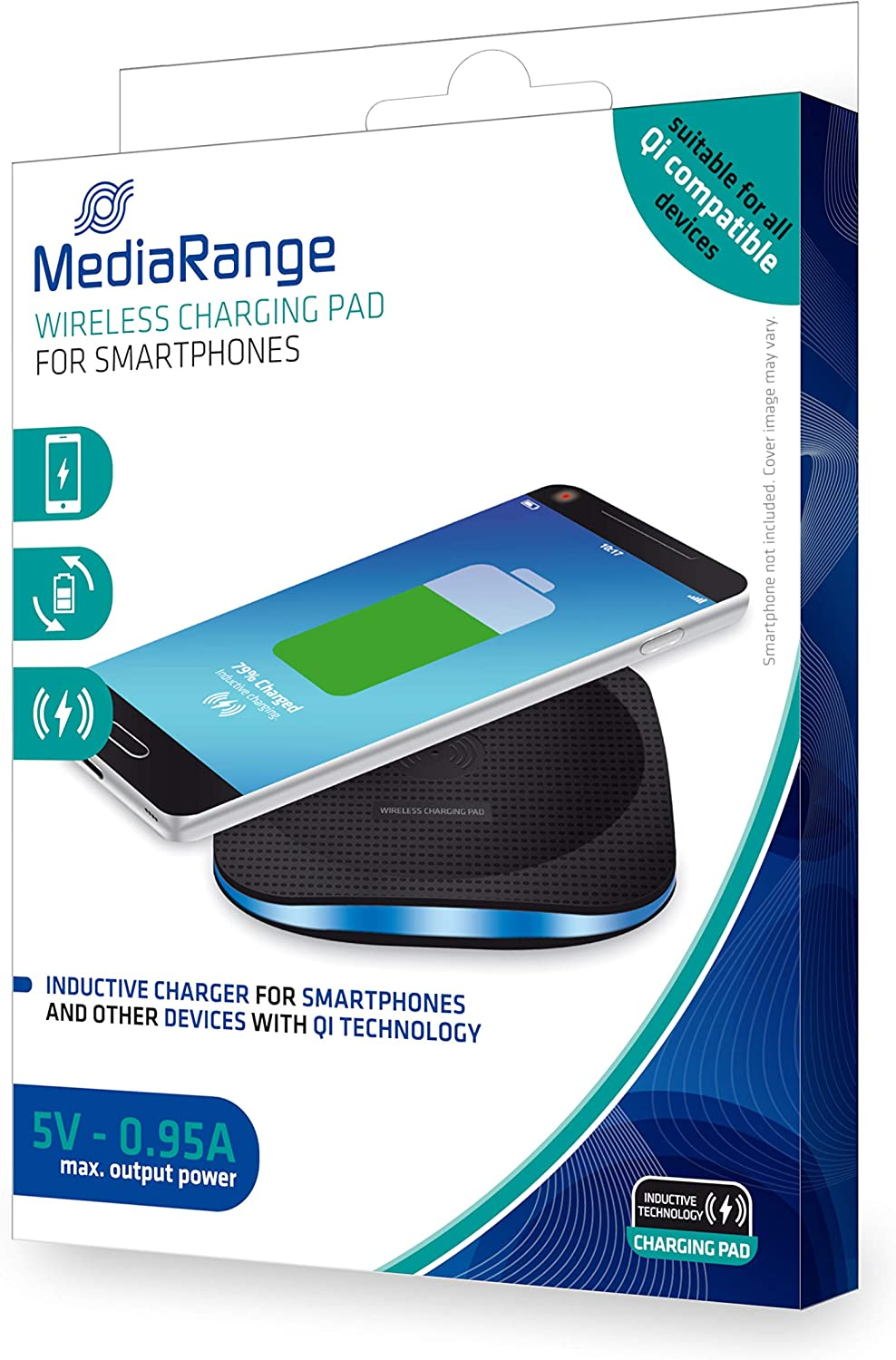 MediaRange Wireless Charger MRMA110 Adecuado para Tablet-PC ...