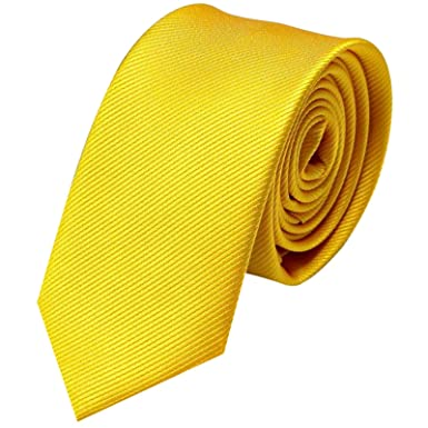 GASSANI - Corbata - para hombre amarillo amarillo: Amazon.es: Ropa ...