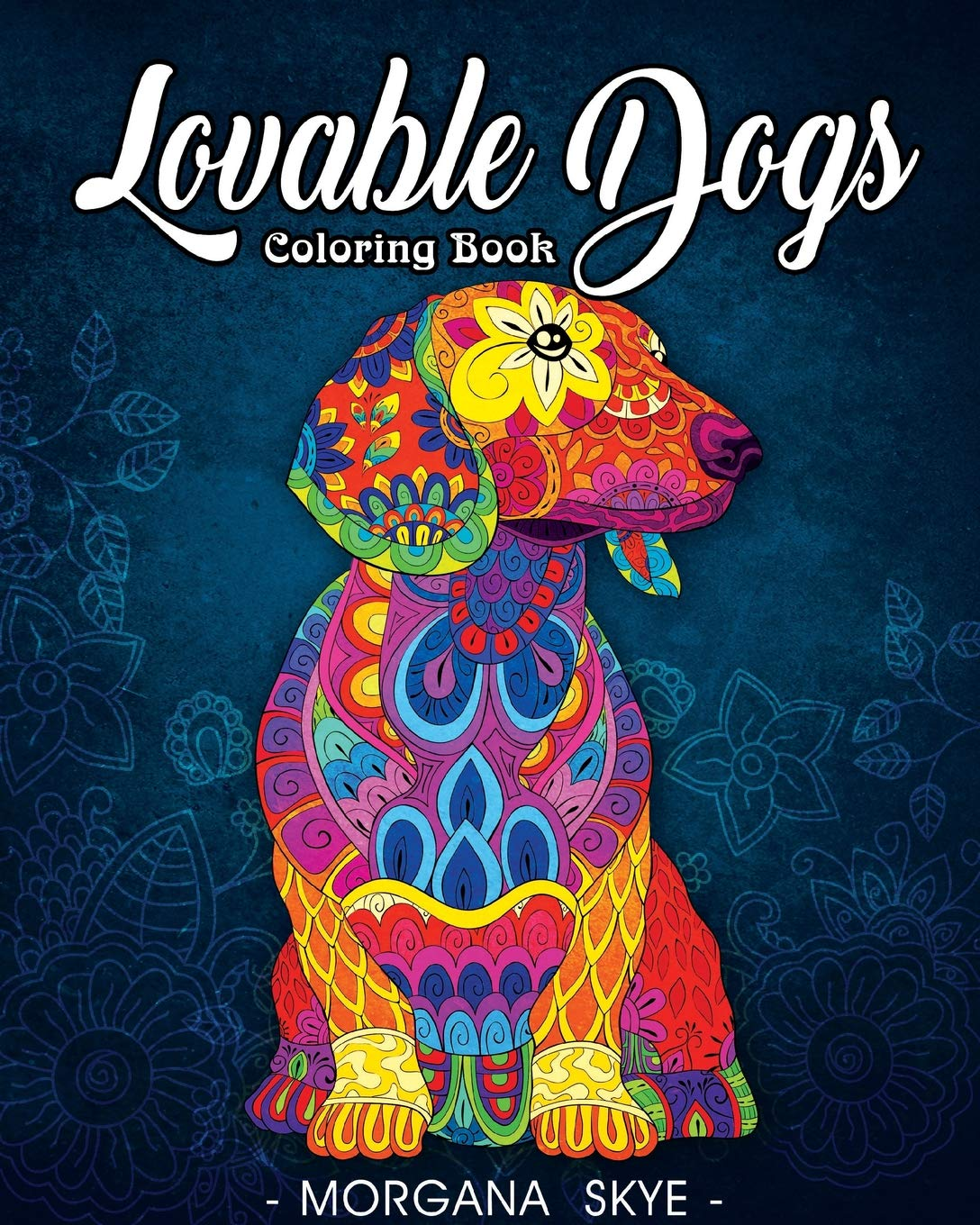 Lovable Dogs Coloring Book Featuring product image