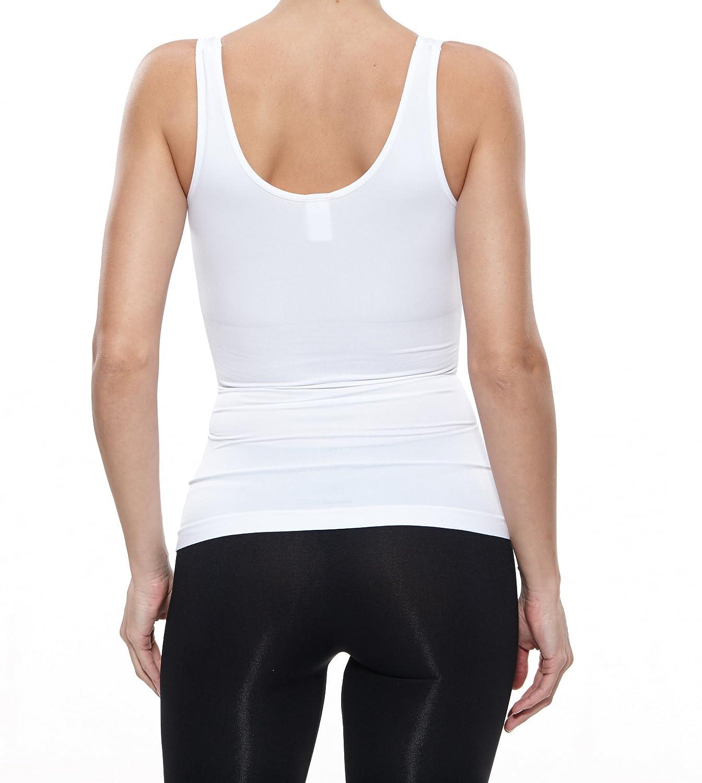 Fay Fay Womenss Camisole Basic Shapewear Racerback Underwear Tank Top