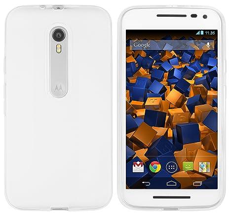 Mumbi Carcasa Motorola Moto G Carcasa Transparente (3ª generación)