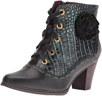 L'Artiste by Spring Step Women's Sufi Boot, Black, 35 EU/5