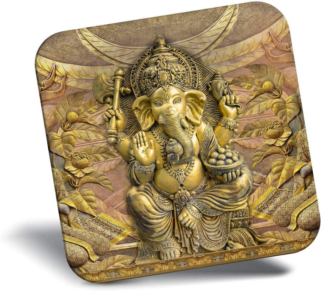 Destination Vinyl ltd Awesome Fridge Magnet - Lord Ganesha Hindu God Indian 21809