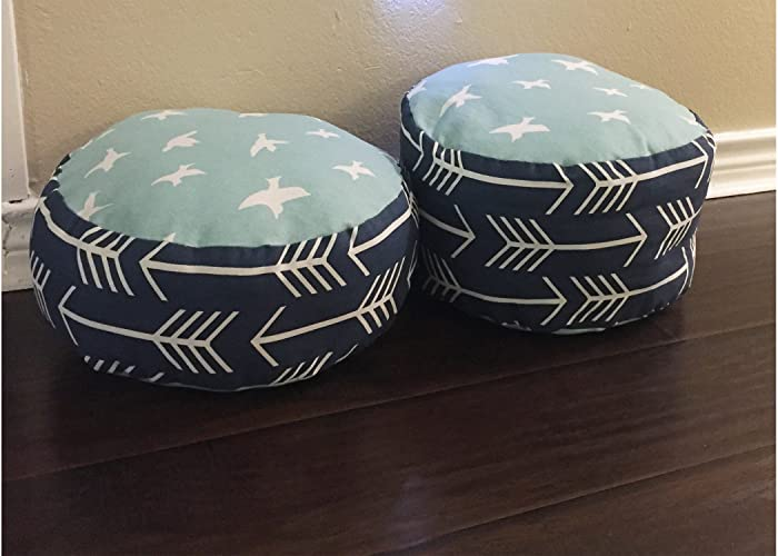 Amazon Toddler Pouf For A Reading Nook Navy Blue Arrows And Mesmerizing Nook Pouf