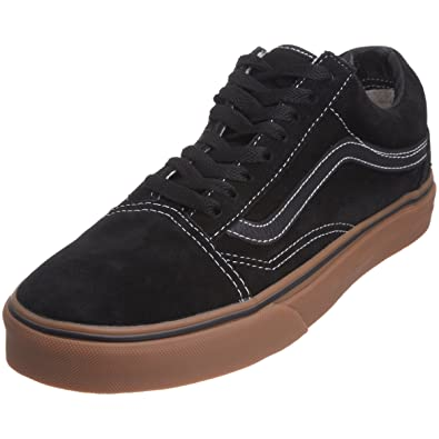 71e0275d8c Vans Unisex-Adult Old Skool Black gum Trainer VKW6B9M . 040 3 UK ...