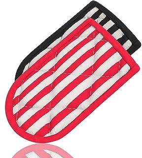 Hot Handle Holders, Striped, Set of 2, Potholders, for Cast Iron Skillets