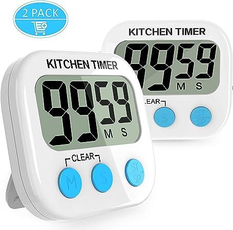 Digital Küchenwecker Kurzzeitmesser Küchen Timer Küchentimer