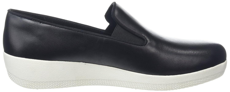 FitFlop Damen Superskate Slipper, (schwarz Schwarz, One Größe schwarz (schwarz Slipper, 001) 55e79c