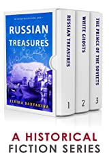 The Russian Treasures Series: Books 1-3: A Historical Fiction Box Set Kindle Edition