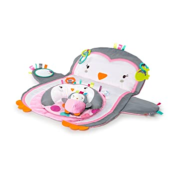 1a59b7197a559 Amazon.com : Bright Starts Tummy Time Prop n Play : Baby
