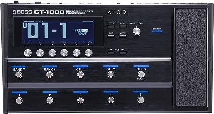 7768d17aa6 Amazon.com  BOSS GT-1000 Guitar Effects Processor  Musical Instruments