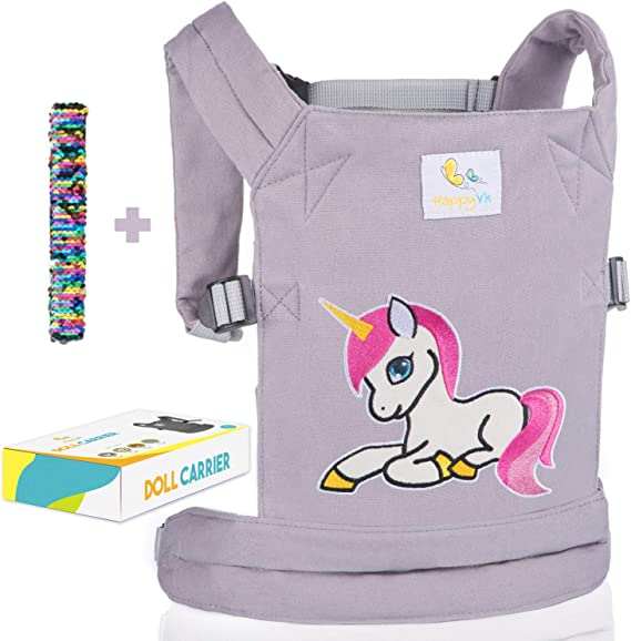 Baby Doll Carrier Cute For Kids Colorful Multi-typed Front Back Carrier Cartoon