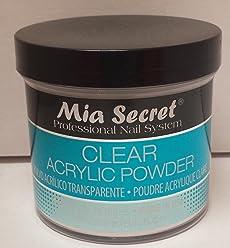 Mia Secret Clear Acrylic Powder 8oz