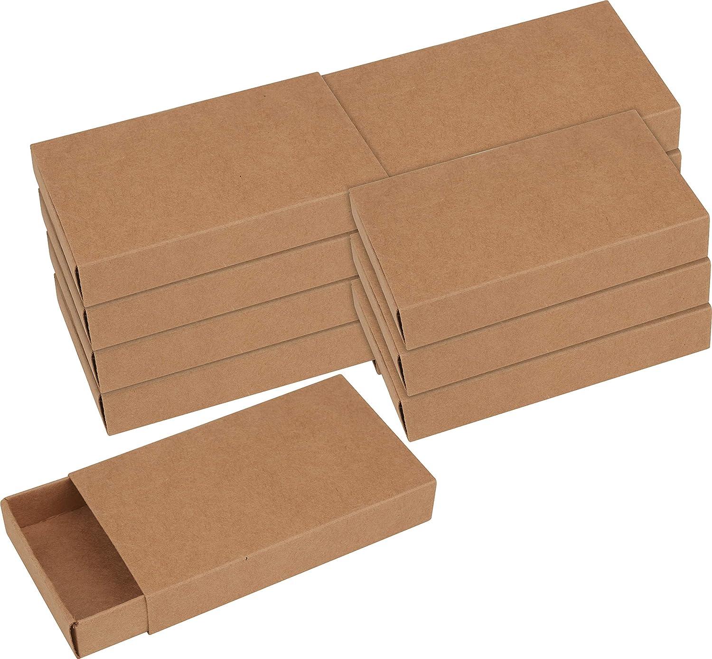 VBS Kraftpapier Streichholzschachteln XL 12 St/ück