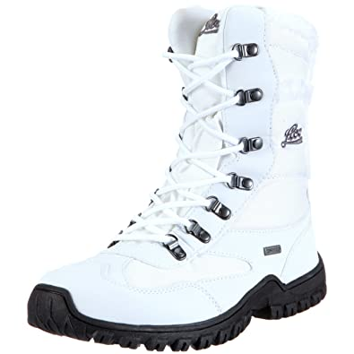 Saskia, Womens Snow Boots, White (Weiss/Grau Weiss/Grau), 3 UK (36 EU) Lico