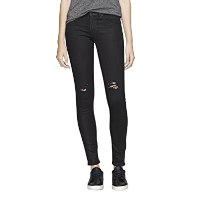Rag & Bone Women's Black Skinny Leggings Jeans (24) at Women's Jeans store