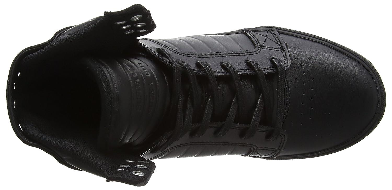 Supra Shoe Skytop Skate Shoe Supra B011JIX9AY 10 M US|Black-black-red b373d1