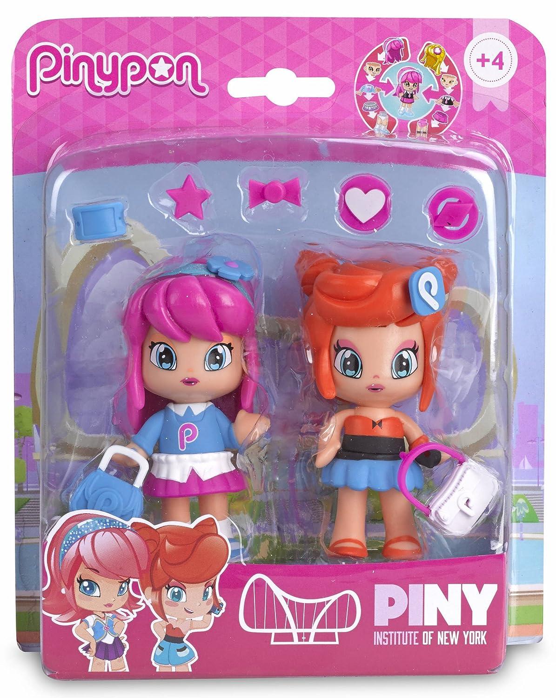 Pinypon - Compañeras de Clase, Michelle & Rita, Set de 2 muñecas (Famosa 700012915): Amazon.es: Juguetes y juegos