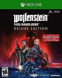 Wolfenstein Wedding Ring.Amazon Com Wolfenstein Youngblood Xbox One Deluxe Edition
