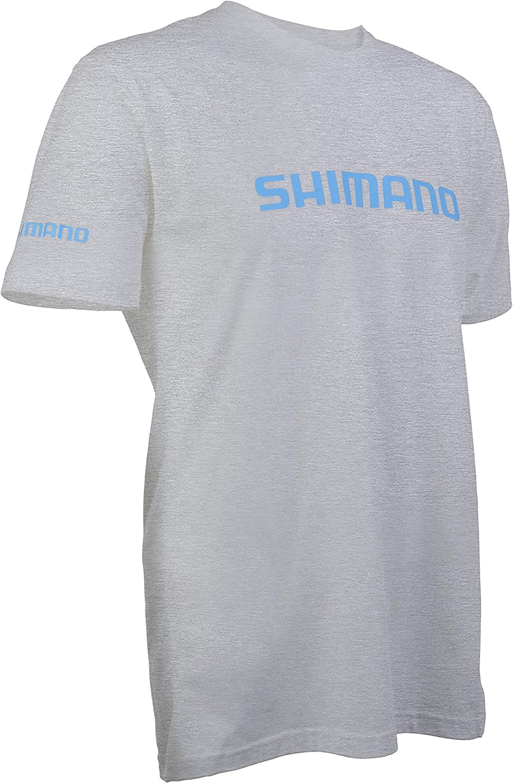 Shimano T-Shirt Baumwolle Angelausr/üstung kurz/ärmelig