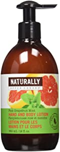 Naturally by Upper Canada Nourishing Hand and Body Lotion, Pink/Grapefruit Mint