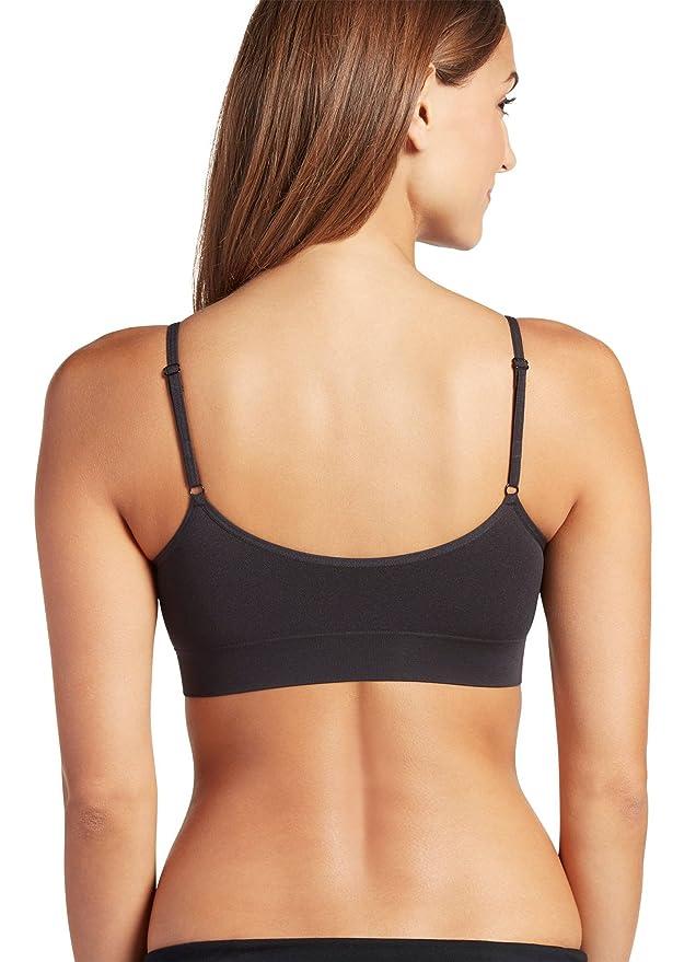 1bbbaa4166e Jockey Women s T-Shirts Modern Micro Seamfree Cami Strap Bralette at Amazon  Women s Clothing store