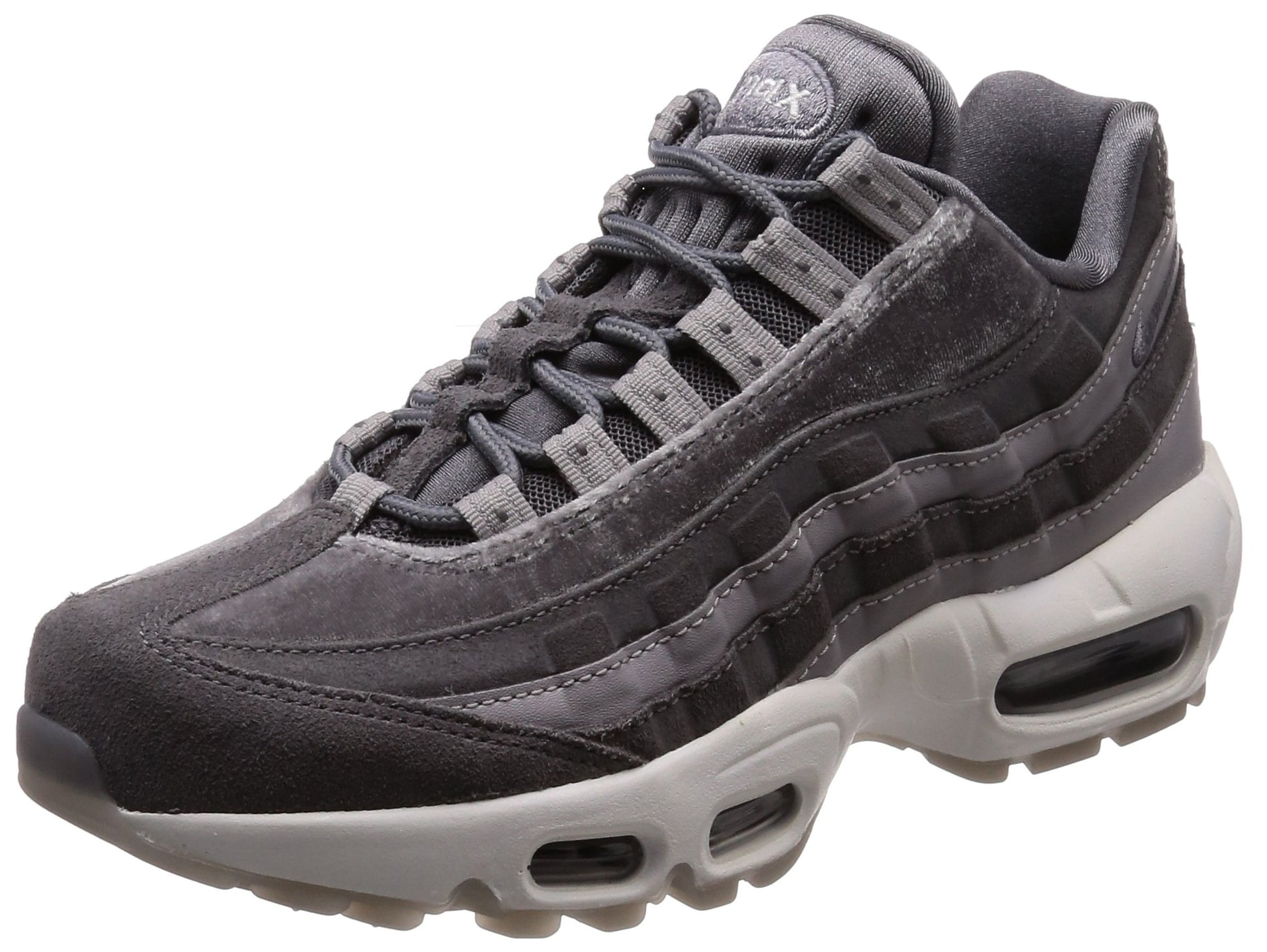 hot sale online dbdf6 03381 Galleon - Nike Air Max 95 LX Women s Running Shoes Gunsmoke Gunsmoke Aa1103- 003 (8 B(M) US)