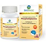 Phosphatidylserine enriched Phospholipid Complex for Memory, Cognitive, Brain Health, 60veg Caps of 500mg each
