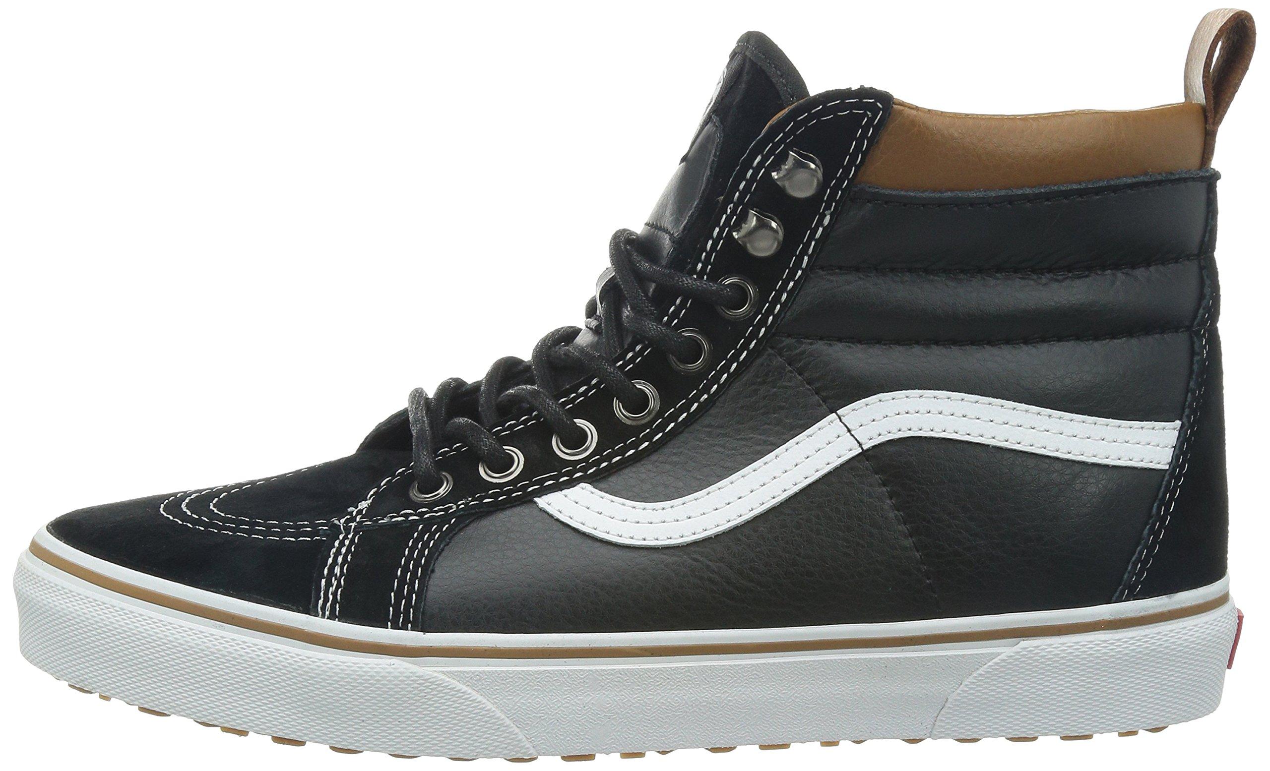 Vans Unisex Sk8-Hi MTE (MTE) Black/True White Skate Shoe 8.5 Men US/10 Women US by Vans (Image #5)