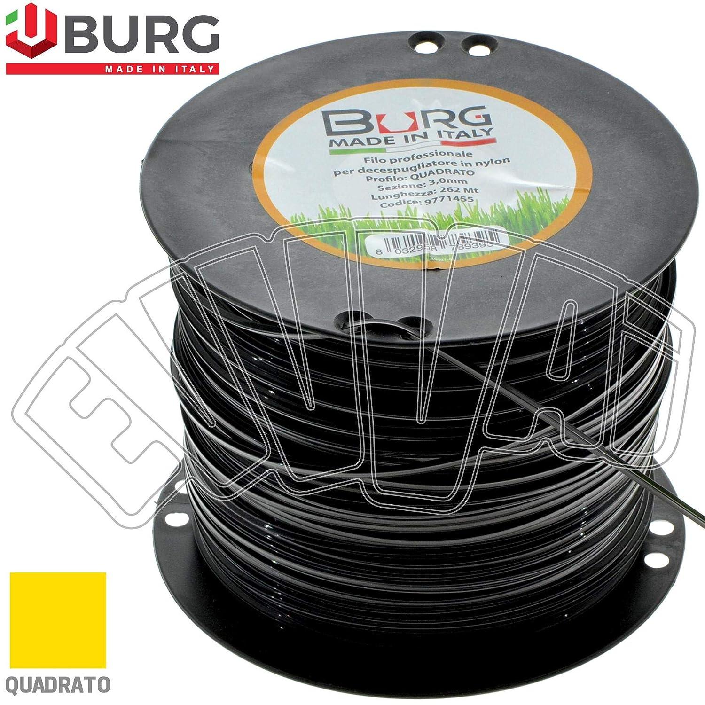 D. Blackpro - Bobina de hilo desbrozadora de 3 mm, bobina de ...