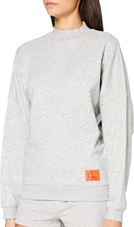 Calvin Klein L/S Sweatshirt Sleepwear Top para Mujer