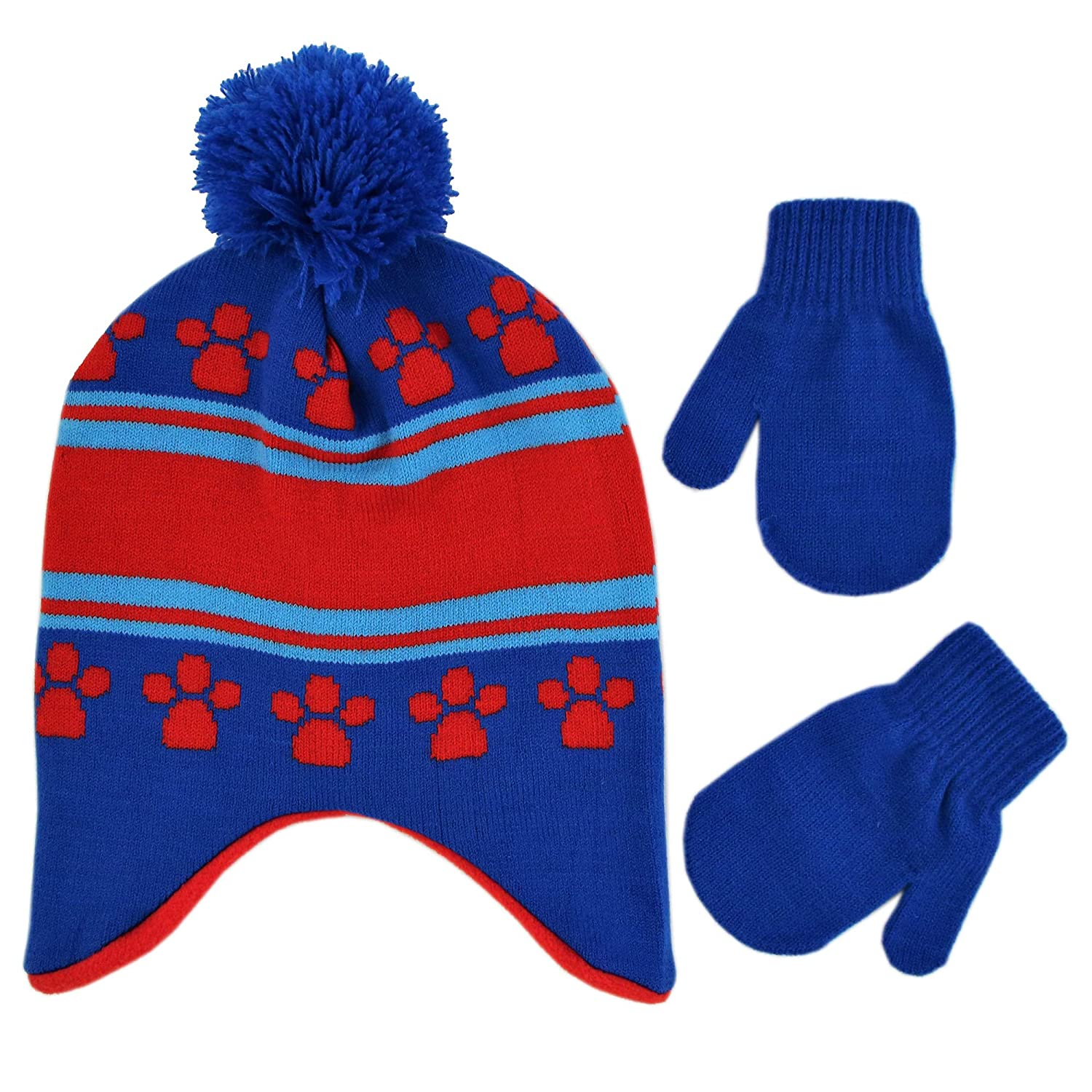 43f9e6493a0 Nickelodeon Boys  Toddler Paw Patrol Character Pups Rule Hat and ...