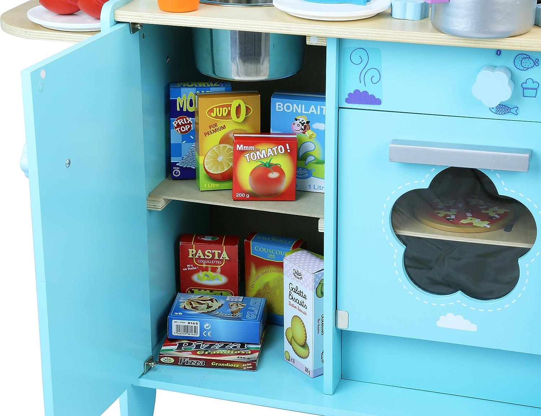 Vilac Kücheneinheit, Himmelblau, 8107: Amazon.de: Spielzeug
