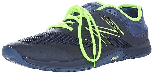 New Balance Hombre 20v5 Minimus Training Shoe, Grey/Toxic, 44 EU: Amazon.es: Zapatos y complementos