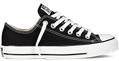 7240fc09306d Image Unavailable. Image not available for. Color  Converse Chuck Taylor  All Star Core Low Top Black M9166 ...