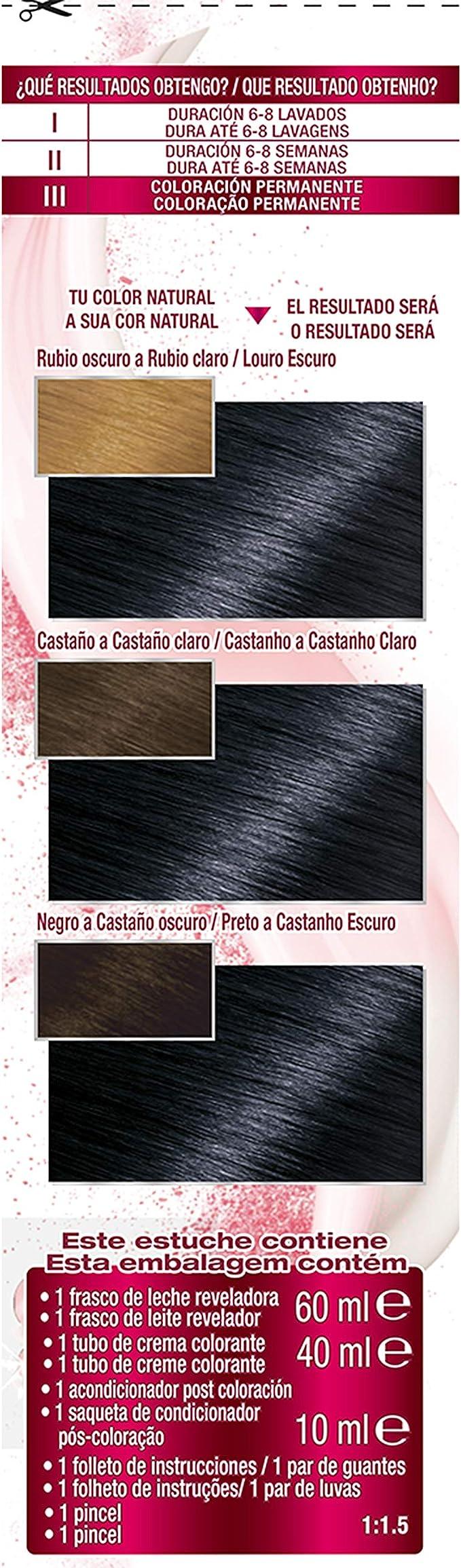 Garnier Color Sensation - Tinte Permanente Negro Azulado ...