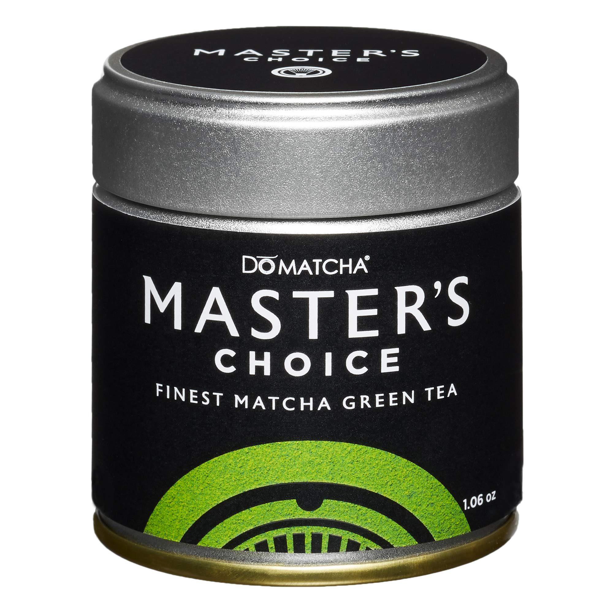 DoMatcha - Master's Choice Green Tea Matcha Powder, Natural Source of Antioxidants, Caffeine, and L-Theanine, Promotes Focus and Relaxation, 25 Servings (1 oz)