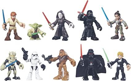 PLAYSKOOL STAR WARS GALACTIC HEROES 2016 GALACTIC RIVALS SET 10 FIGURES