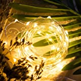 Homesake® 50-LED Fairy Copper String Diwali Lights 5m Waterproof, 3AA Battery, Warm White Pack of 1