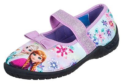 Brandsseller Mädchen Hausschuh Ballerina Frozen Eiskönigin