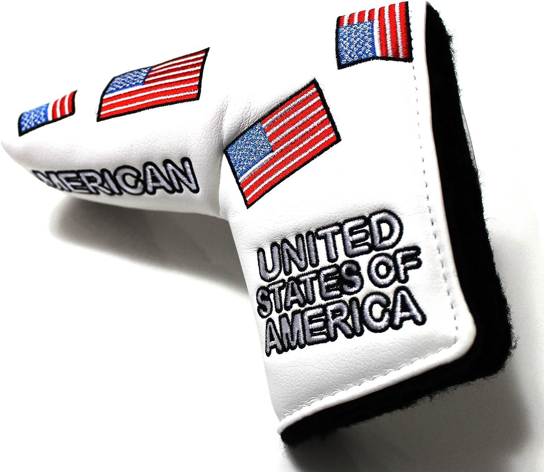 Bandera de Estados Unidos Funda para Putter de Golf para Scotty ...