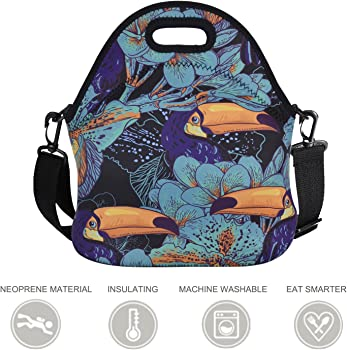 Coofit Neoprene Insulated Lunch Tote for Women